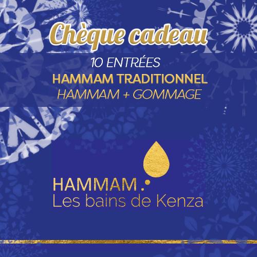 10 entrées hammam gommage promotion les bains de kenza créteil