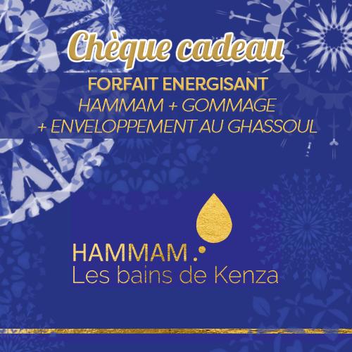 forfait energisant hammam gommage enveloppement les bains de kenza creteil